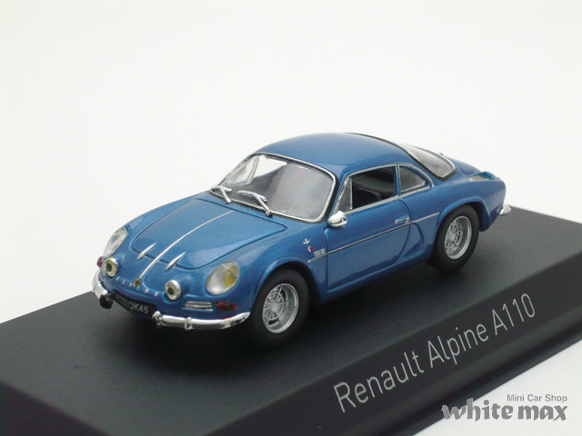 ノレブ 1/43 ルノー アルピーヌ A110 1973 (ブルー)