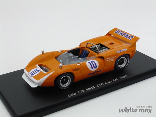 スパーク 1/43 ローラ T70 MkIII カンナム 1968 No.10