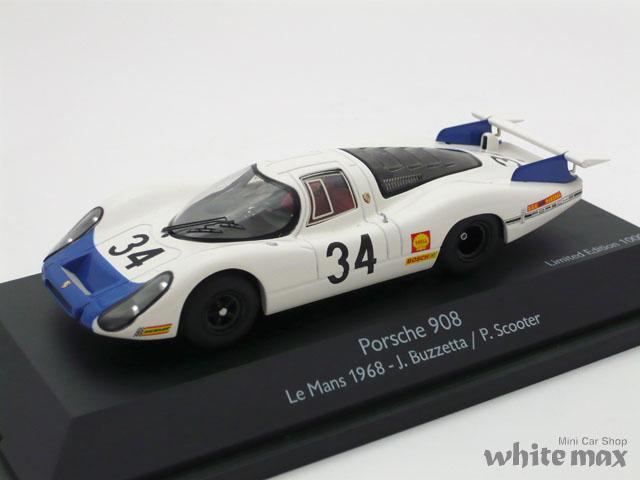シュコー 1/43 ポルシェ 908 ロングテール ル・マン 1968 No.34