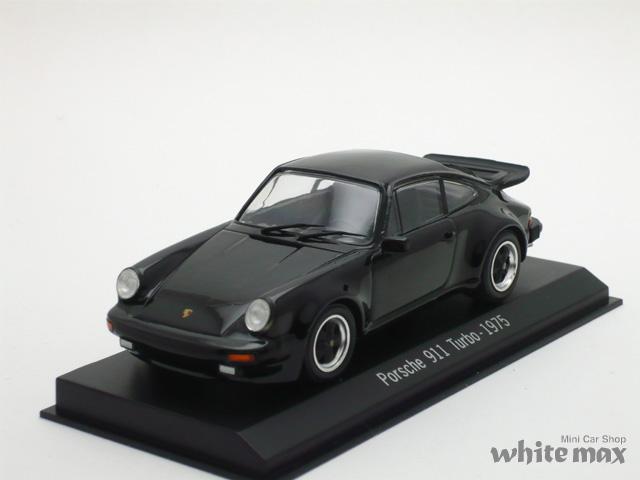 スパーク 1/43 ポルシェ 911 ターボ 1975 (ブラック)