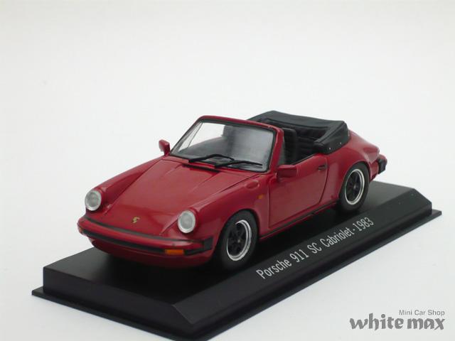スパーク 1/43 ポルシェ 911 SC カブリオレ 1983 (レッド)