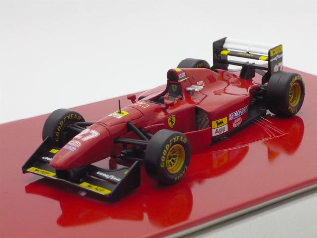 イクソ 1/43 フェラーリ 412T1B ベルギーGP No.27 1994