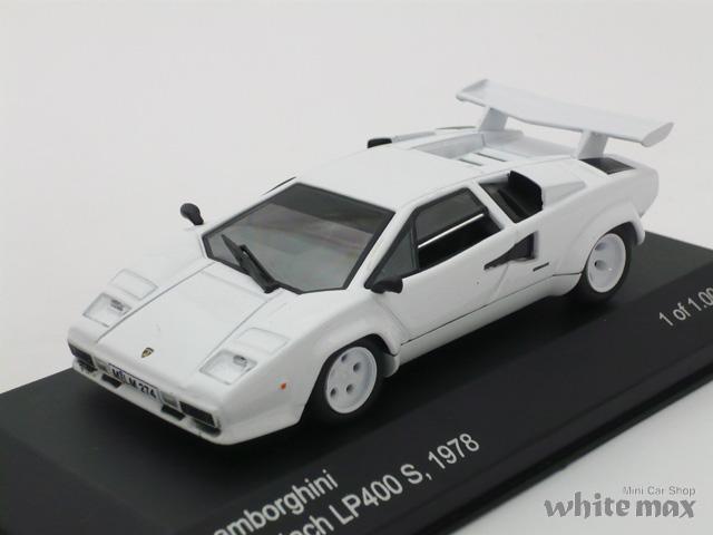 WHITEBOX 1/43 ランボルギーニ カウンタック 1978 (ホワイト)
