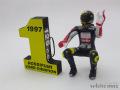 ミニチャンプス 1/12 V.Rossi フィギュア 1st ワールドチャンピオン GP125 Bmo 1997