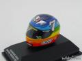 ミニチャンプス 1/8 AGV ヘルメット V.Rossi モトGP ウインターテスト 2003