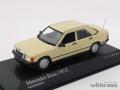 ミニチャンプス 1/43 メルセデス ベンツ 190E W201 1984 (アイボリー)