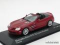ミニチャンプス 1/43 メルセデス ベンツ SLR マクラーレン ロードスター 2007 (レッド)