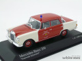 ミニチャンプス 1/43 メルセデス ベンツ 200 ジョルンドルフ消防隊 1965