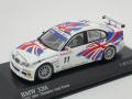 ミニチャンプス 1/43 BMW 320i BMWチームUK ETCC 2004 No.11
