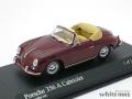 ミニチャンプス 1/43 ポルシェ 356 A カブリオレ 1956 (レッド)