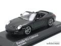 ミニチャンプス 1/43 ポルシェ 911 カレラ 997II カブリオレ 2008 (ブラック)