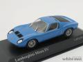 ミニチャンプス 1/43 ランボルギーニ ミウラ SV 1971 (ブルー)