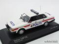 ミニチャンプス 1/43 ボルボ 240GL ノルウェー警察 1986