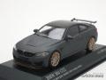 ミニチャンプス 1/43 BMW M4 GTS 2016 (マットグレー/オレンジホイール)