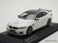 ミニチャンプス 1/43 BMW M4 GTS 2016 (ホワイト/グレーホイール)