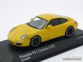 ミニチャンプス 1/43 ポルシェ 911 カレラ GTS 2011 (イエロー)