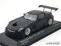ミニチャンプス 1/43 メルセデス ベンツ SLS AMG GT3 2011 (マットブラック)