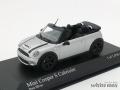 ミニチャンプス 1/43 ミニクーパー S カブリオレ 2009 (シルバー)