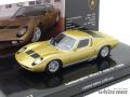 ミニチャンプス 1/43 ランボルギーニ ミウラ P400S 1968 (ゴールド)