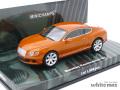 ミニチャンプス 1/43 ベントレー コンチネンタル GT 2011 (オレンジメタリック)