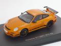 オートアート 1/43 ポルシェ 911(997) GT3 RS (オレンジ/ブラックストライプ)