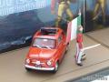 ブルム 1/43 フィアット 500 イタリア王国150周年記念モデル ジュゼッペ・ガリバルディ (イタリア統一の三傑の一人) フィギュア付