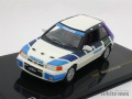イクソ 1/43 マツダ 323 GT-AE 1991 (ホワイト/ブルー)