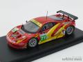 フジミ 1/43 チームAFコルセ フェラーリ 458 イタリア GT2 ルマン 2011 No.71