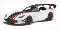 GT スピリット 1/18 ダッジ バイパー ACR (ホワイト/ブラック/レッド)