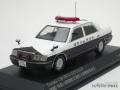 レイズ 1/43 トヨタ クラウン (JZS155Z) 2000 神奈川県警察交通部交通機動隊車両 407