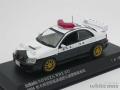レイズ 1/43 スバル インプレッサ WRX STI 2004 栃木県警察高速道路交通警察隊車両