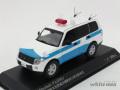 レイズ 1/43 ミツビシ パジェロ 2009 警察本部警備部機動隊災害活動車両