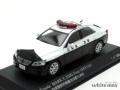 レイズ 1/43 トヨタ マーク X 250G Four (GRX135) 2011 山梨県警察所轄署地域警ら車両 甲10