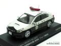 レイズ 1/43 スバル レガシィ B4 2.5GT 福島県警察特別警ら隊車両(ウルトラ警察隊)
