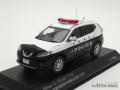 レイズ 1/43 ニッサン エクストレイル (T32) 2017 滋賀県警察所轄署地域警ら車両