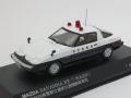 レイズ 1/43 マツダ サバンナ RX-7 1979 秋田県警察交通部交通機動隊車両