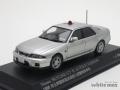 レイズ 1/43 ニッサン スカイライン GT-R AUTECH ERSION 1998 埼玉県警察高速道路交通警察隊車両(覆面/銀)