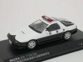 レイズ 1/43 マツダ RX-7 FC3S 1989 警視庁高速道路交通警察隊車両 速11