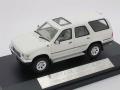 ハイストーリー 1/43 トヨタ ハイラックス サーフ 4WD 4ドア SSR リミテッド 1989 (ホワイト)