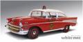 HIGHWAY61 1/18 シェビー ベルエア 消防指揮車 1957