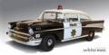 HIGHWAY61 1/18 シェビー ベルエア パトロールカー 1957