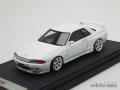 イグニッションモデル 1/43 ニスモ R32 GT-R Sチューン (ホワイト)