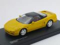 京商 1/43 ホンダ NSX タイプR 1992 (イエロー)
