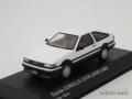 京商 1/43 トヨタ カローラ レビン AE86 前期型 (ホワイト/ブラック)