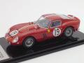 京商 1/43 フェラーリ 250GTO LM 1962 No.19