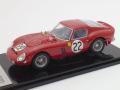 京商 1/43 フェラーリ 250GTO LM 1962 No.22