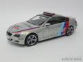 京商 1/18 BMW M6 クーペ モトGP セーフティーカー 2007 (シルバー)