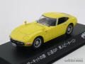 京商 1/43 トヨタ 2000GT 1969-1970 サーキットの狼 隼人ピーターソン (イエロー)