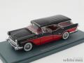 NEO 1/43 ビュイック センチュリー キャバレロ ワゴン 1957 (ブラック/レッド)