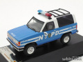 プレミアムX 1/43 フォード ブロンコ II ニューヨーク市警 ポリスカー 1990
